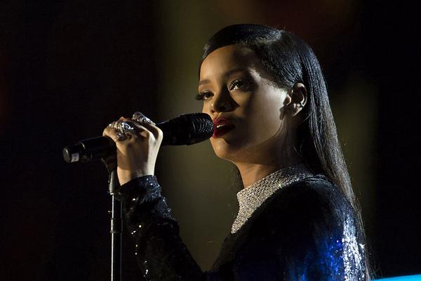 Rihanna concert in Washington DC  2